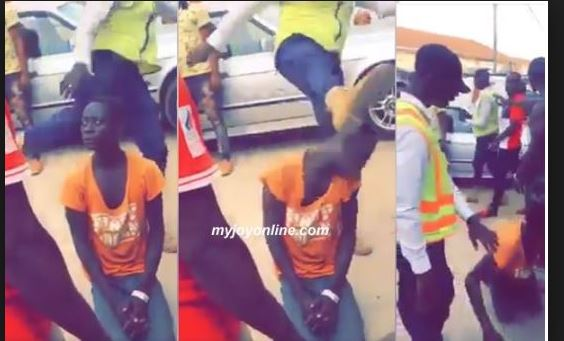 Swedru Municipal guard who kicked boy's head arrested