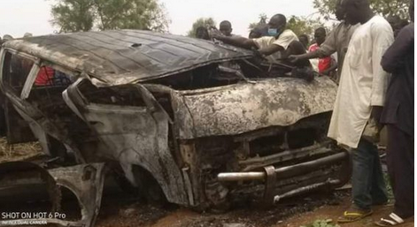 So Sad: 19 Wedding Guests Die In Road Accident In Jigawa