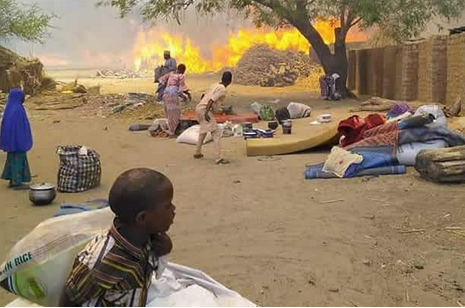 371 Persons Displaced As Fire Destroys 140 Shelters In Borno IDPS Camp