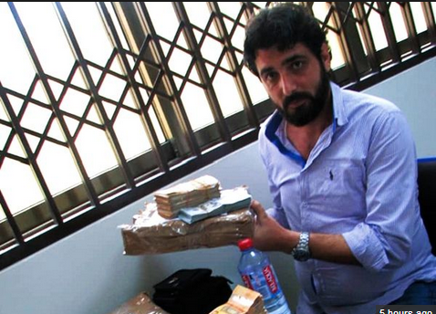 Photo: 38yr-Old Lebanese Caught At Airport Trying To Sneak $1.4Million Out Of Ghana