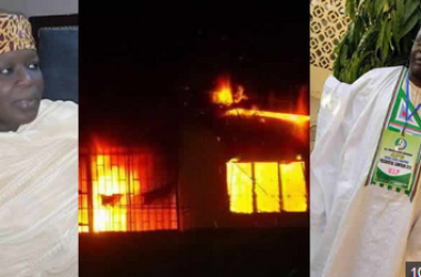 Very Sad: APC Chieftain And Wife BURNT TO DEATH In Fire Outbreak (Photos)