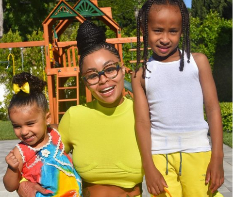 Adorable Photos Of Blac Chyna And Her Children, King Cairo And Dream Kardashian