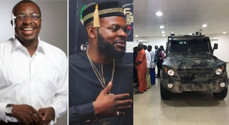 Photos: Alibaba And Falz Reacts As Nigerian Company Starts Manufacturing Armoured Carriers
