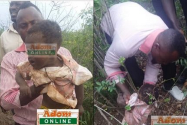 So Sad: Baby Rescued After Being Buried Alive By Mother
