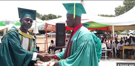 Blind Student Graduates From College With First Class