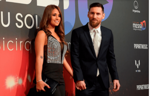 WOW: Checkout This Unseen Childhood Photo Of Lionel Messi And His Wife At The Age Of 10