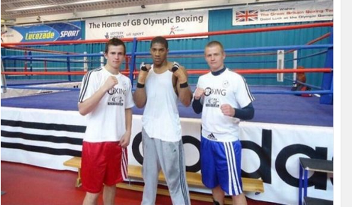 Very Funny: Checkout Throwback Photo Of Anthony Joshua