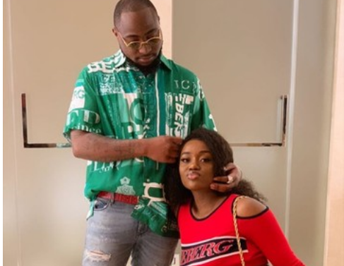 WOW: Chioma Reveals What Davido Does To Her In Secret [PHOTO]