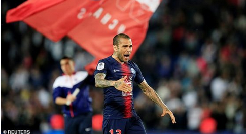 Goat: Dani Alves Becomes The Most Successful Footballer In History After Winning His 42nd Trophy