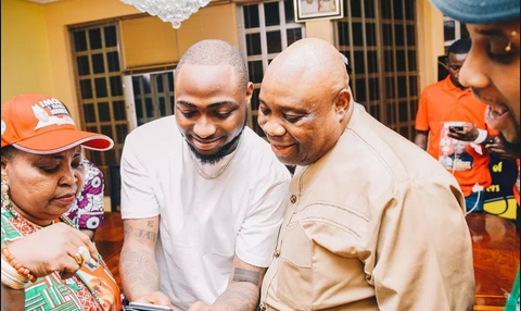 """Story For The gods"" – Davido Reacts To Senator Adeleke's Election Nullification Over 'Certificate Forgery'"