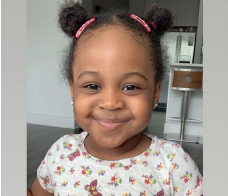 Davido Shares Adorable Photo Of His Second Daughter