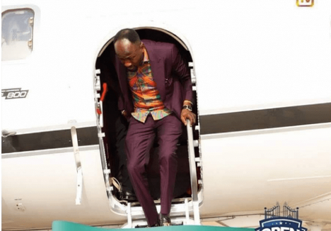 Video: Exclusive View Inside Apostle Suleman Private Jet