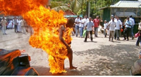 So Sad: Man Set Self On Fire In Ebonyi