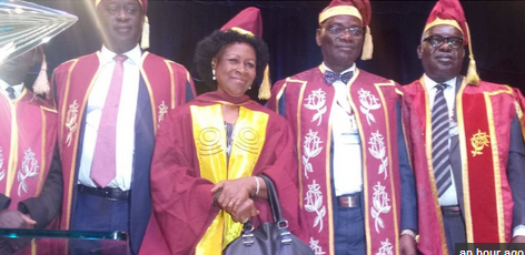 Photo: Meet 77-Year-Old Woman Who Graduated At UNILAG 50th Convocation
