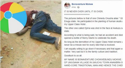 Nigerian Man Rejoice Over Death Of Man Who Set Him Up