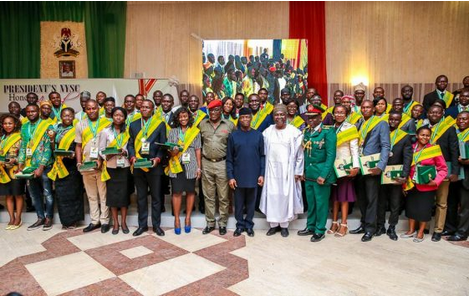 Breaking News: President Buhari Offers Employment, Scholarships To 168 Ex-Corps Members
