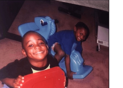 See Charming Throw Back Pictures Of Davido