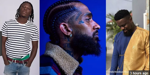 Stonebwoy & Sarkodie reacts to the death of American rapper Nipsey Hussle