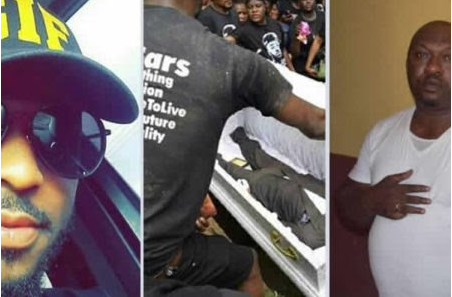 R.I.P: Tears As Kolade Johnson Who Was Killed By SARS Is Buried Today [PHOTOS]