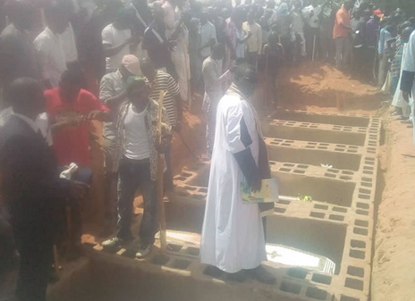 Tears Flow As Brigade Boys Killed On Easter Sunday Are Buried In Gombe [PHOTOS]