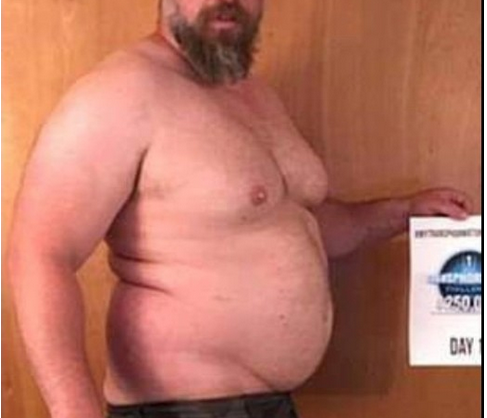 WOW: This Man's Transformation In Just 5 Months Will Inspire You For The Rest Of The Day [PHOTO]