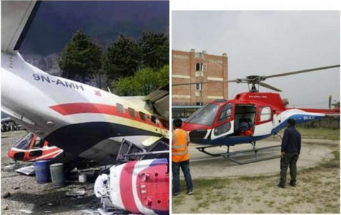 Very Sad: Three People Killed In Aircraft Accident Near Mount Everest