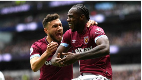 Video: Tottenham Hotspur 0-1 West Ham United [Premier League] Highlight 2018/19