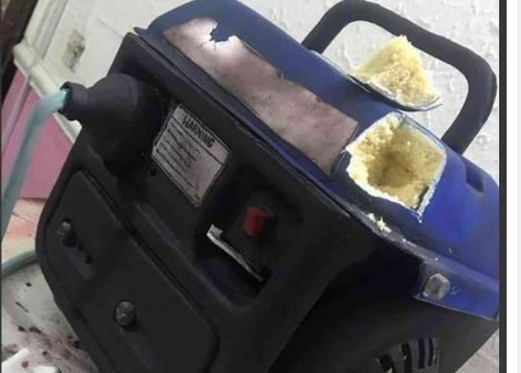 WOW: You Will Not Believe That This Generator Is Actually A Cake [PHOTO]