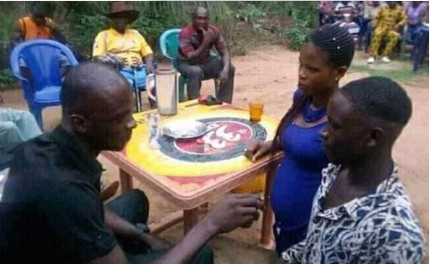 Photos: Young Boy Forced To Marry Young Lady After Impregnating Her