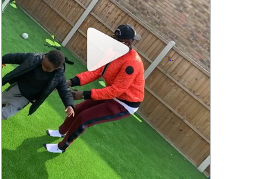 Video: Young Boy From UK Dribbles Kiss Daniel On The Football Pitch At Its Epic