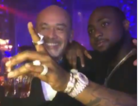 Photos: famous French Fashion Designer Christian Louboutin And Davido No Best Friends... They Just Met And Are Cool Already
