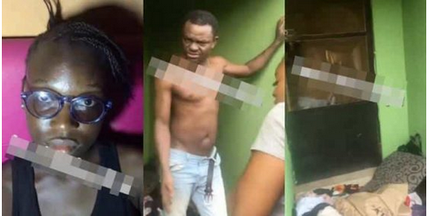 Video: Actor Francis Odega's Daughter Cries Out As He Beats Her Mum And Kicks Them Out