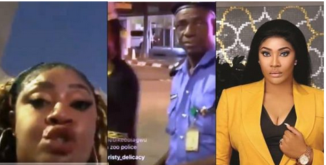 """Your Gun Will Kill You"" Actress Angela Okorie ""Fights"" Policeman Who Said She Will Die"