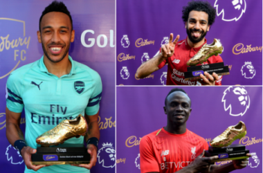 Aubameyang, Sadio Mane And Mohamed Salah Wins The EPL Golden Boot In The 2018/2019... Checkout