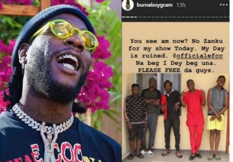 Burna Boy Pleads With EFCC To Free Zlatan Ibile, Says His Day Is Ruined!!!... Checkout