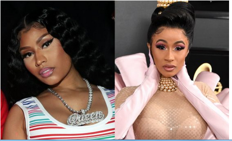 Cardi B Cries Out In Pain, Begs Her Fans To Stop Comparing Her To Nicki Minaj And Other Artistes