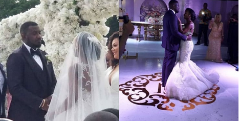Checkout Adorable And Lovely Photos From John Dumelo's White Wedding