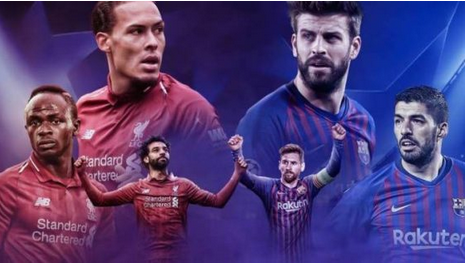Checkout Liverpool 4-0 Barcelona Second Leg Champion League Semi-Finals
