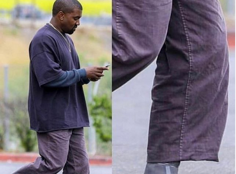 Checkout Photos Kanye West's New Yeezy Pointy Elf Shoes Everyone Is Talking About... Pls Don't Laugh