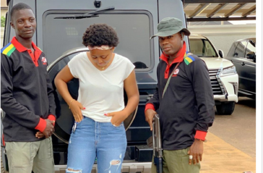 Checkout Regina Daniels Armed Bodyguards Assigned To Her By Husband, Ned Nwoko