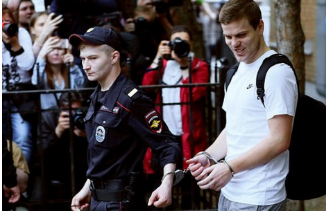 Checkout Russian football Stars Alexander Kokorin And Pavel Mamaev Sentenced To Prison [Photo]