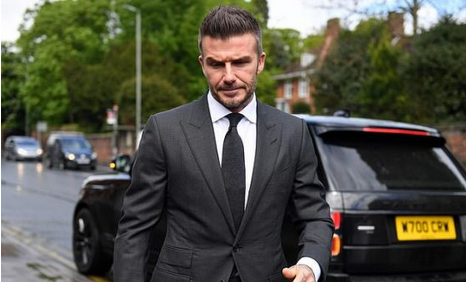 Checkout Shocking Reason Why David Beckham Has Been Banned From Driving