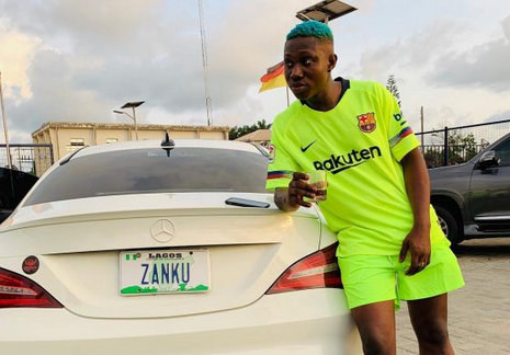 Checkout Zlatan Ibile Brand New N35M Mercedez Benz Car... Music Or Yahoo Money?