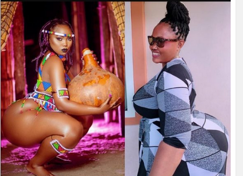 WOW: Curvy Tanzanian model Celebrates Her Endowed Mom On Mother's Day With Adorable And Lovely Photos.... Checkout