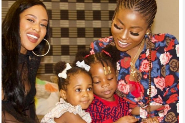 Davido Celebrates The Special Women In His Life And Chioma Is Missing... Checkout Photos
