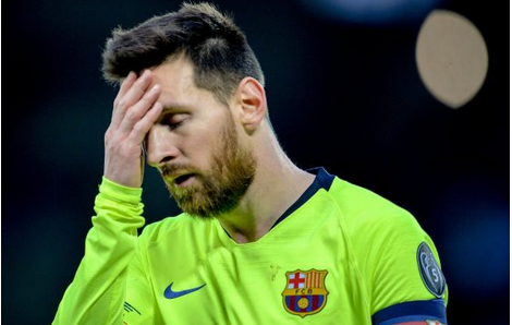 Checkout: Lionel Messi Broke Down In Tears In Anfield Dressing Room After 4-0 Thumping By Liverpool