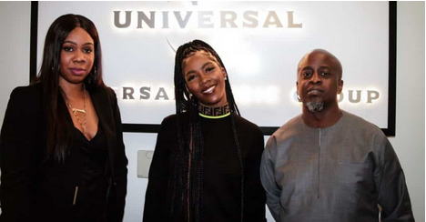 Star Girl: Tiwa Savage Sign International Deal With Universal Music Group