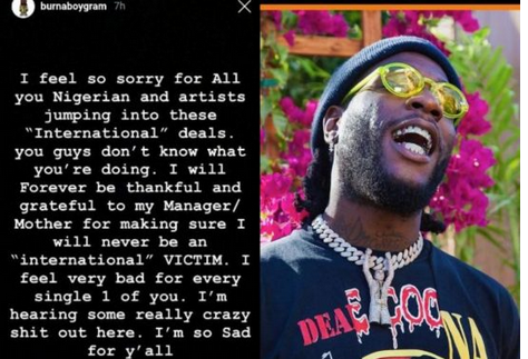 "Burna Boy ""Shot Dead""! Twitter Slams Burna Boy Over Streaming Numbers Comments"