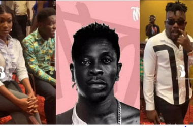 Checkout Amazing Video Of Bullet And Wendy Shay As They Arrives At Shatta Wale And Stonebwoy Peace Conference